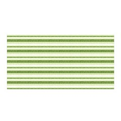 Spring Stripes Satin Wrap by designworld65