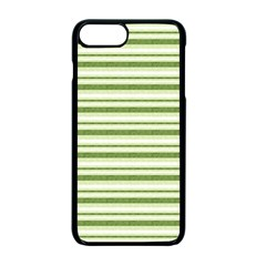Spring Stripes Apple Iphone 7 Plus Seamless Case (black) by designworld65