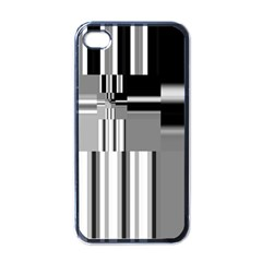 Black And White Endless Window Apple Iphone 4 Case (black) by designworld65