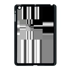 Black And White Endless Window Apple Ipad Mini Case (black) by designworld65