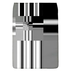 Black And White Endless Window Flap Covers (s)  by designworld65
