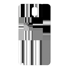 Black And White Endless Window Samsung Galaxy Note 3 N9005 Hardshell Back Case by designworld65