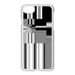 Black And White Endless Window Apple Iphone 7 Seamless Case (white) by designworld65