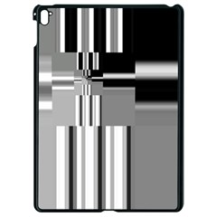 Black And White Endless Window Apple Ipad Pro 9 7   Black Seamless Case by designworld65