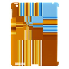 Endless Window Blue Gold Apple Ipad 3/4 Hardshell Case (compatible With Smart Cover) by designworld65