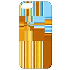 Endless Window Blue Gold Apple Iphone 5 Classic Hardshell Case by designworld65