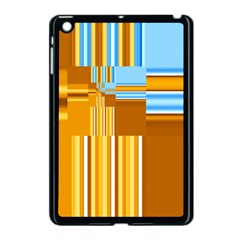 Endless Window Blue Gold Apple Ipad Mini Case (black) by designworld65