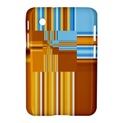 Endless Window Blue Gold Samsung Galaxy Tab 2 (7 ) P3100 Hardshell Case  by designworld65