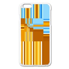 Endless Window Blue Gold Apple Iphone 6 Plus/6s Plus Enamel White Case by designworld65