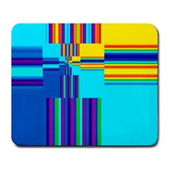 Colorful Endless Window Large Mousepads by designworld65