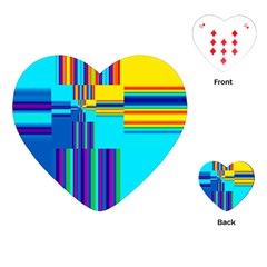 Colorful Endless Window Playing Cards (heart)