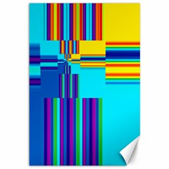 Colorful Endless Window Canvas 12  X 18   by designworld65