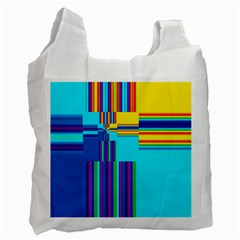Colorful Endless Window Recycle Bag (one Side) by designworld65