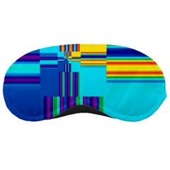 Colorful Endless Window Sleeping Masks by designworld65