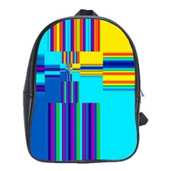 Colorful Endless Window School Bag (large) by designworld65