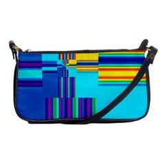 Colorful Endless Window Shoulder Clutch Bags by designworld65
