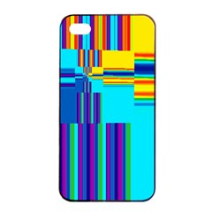 Colorful Endless Window Apple Iphone 4/4s Seamless Case (black) by designworld65