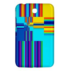 Colorful Endless Window Samsung Galaxy Tab 3 (7 ) P3200 Hardshell Case  by designworld65