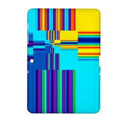 Colorful Endless Window Samsung Galaxy Tab 2 (10 1 ) P5100 Hardshell Case  by designworld65