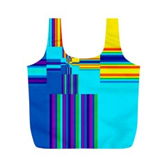 Colorful Endless Window Full Print Recycle Bags (m)  by designworld65