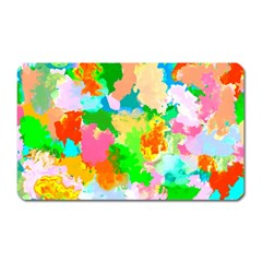 Colorful Summer Splash Magnet (rectangular) by designworld65