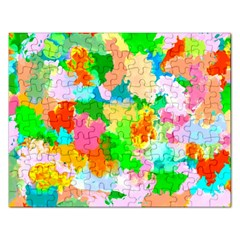 Colorful Summer Splash Rectangular Jigsaw Puzzl by designworld65
