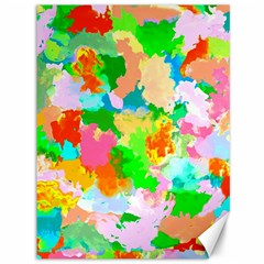 Colorful Summer Splash Canvas 36  X 48   by designworld65