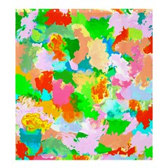 Colorful Summer Splash Shower Curtain 66  X 72  (large)  by designworld65