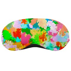 Colorful Summer Splash Sleeping Masks by designworld65