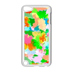 Colorful Summer Splash Apple Ipod Touch 5 Case (white) by designworld65