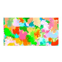 Colorful Summer Splash Satin Wrap by designworld65