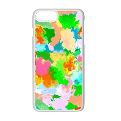 Colorful Summer Splash Apple Iphone 7 Plus White Seamless Case by designworld65
