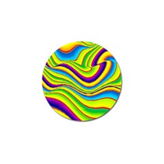 Summer Wave Colors Golf Ball Marker (4 Pack) by designworld65