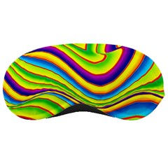 Summer Wave Colors Sleeping Masks by designworld65