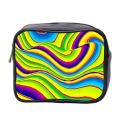Summer Wave Colors Mini Toiletries Bag 2 Side by designworld65