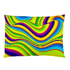 Summer Wave Colors Pillow Case (two Sides) by designworld65