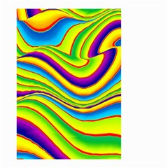 Summer Wave Colors Small Garden Flag (two Sides) by designworld65