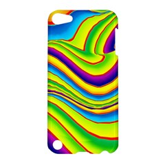 Summer Wave Colors Apple Ipod Touch 5 Hardshell Case by designworld65