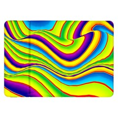 Summer Wave Colors Samsung Galaxy Tab 8 9  P7300 Flip Case by designworld65