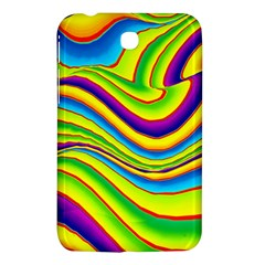 Summer Wave Colors Samsung Galaxy Tab 3 (7 ) P3200 Hardshell Case  by designworld65