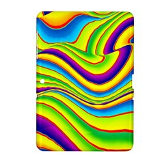 Summer Wave Colors Samsung Galaxy Tab 2 (10 1 ) P5100 Hardshell Case  by designworld65
