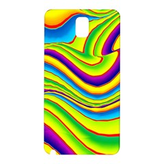 Summer Wave Colors Samsung Galaxy Note 3 N9005 Hardshell Back Case by designworld65