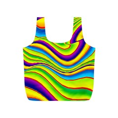 Summer Wave Colors Full Print Recycle Bags (s)  by designworld65