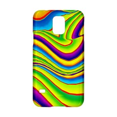 Summer Wave Colors Samsung Galaxy S5 Hardshell Case  by designworld65