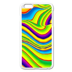 Summer Wave Colors Apple Iphone 6 Plus/6s Plus Enamel White Case by designworld65