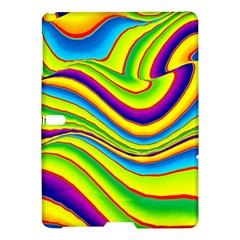 Summer Wave Colors Samsung Galaxy Tab S (10 5 ) Hardshell Case  by designworld65