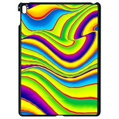 Summer Wave Colors Apple Ipad Pro 9 7   Black Seamless Case by designworld65