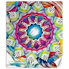 Sunshine Feeling Mandala Canvas 20  X 24   by designworld65