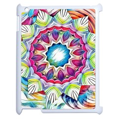 Sunshine Feeling Mandala Apple Ipad 2 Case (white)