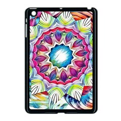 Sunshine Feeling Mandala Apple Ipad Mini Case (black) by designworld65